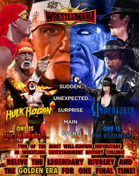 WWE WRESTLEMANIA 35: HULK HOGAN VS THE UNDERTAKER by RunzaMan