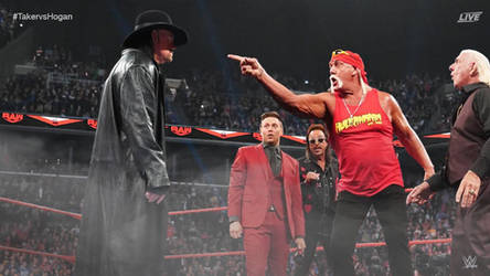 WWE Dream Match: Undertaker Confronts Hulk Hogan by RunzaMan