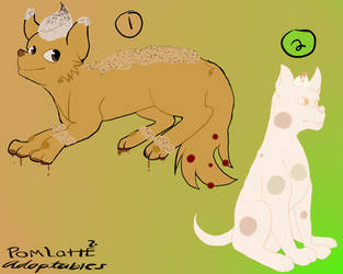 Dessert dog adoptables #1 by PomLatte