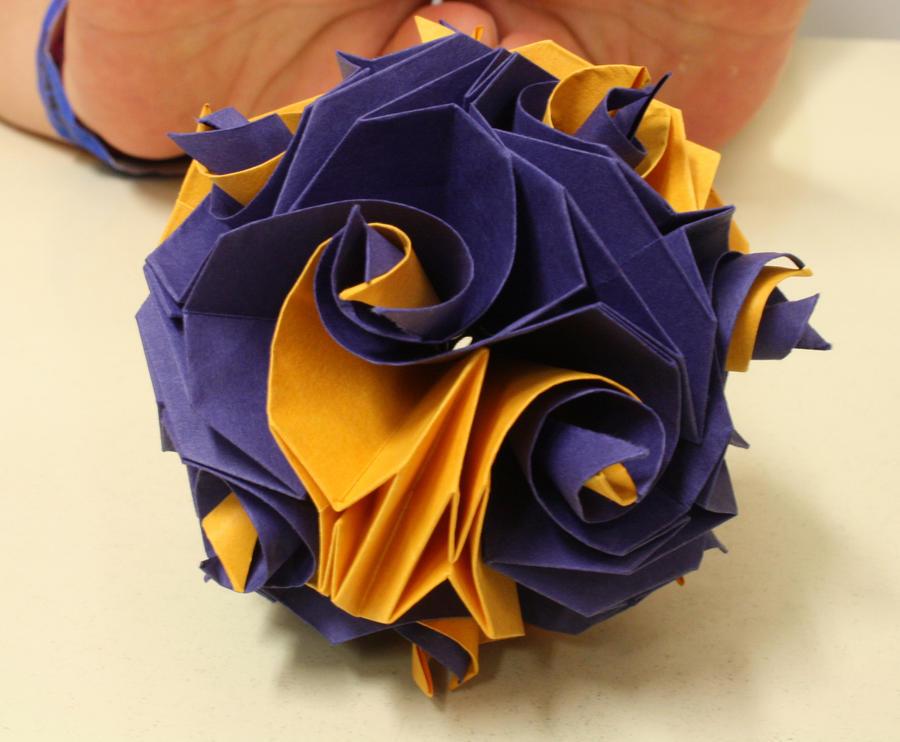 kusuduma origami by Ketike