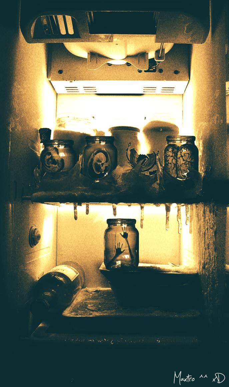 Scary Fridge by Maxxsstro