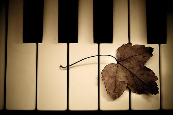 Melodies on white keys