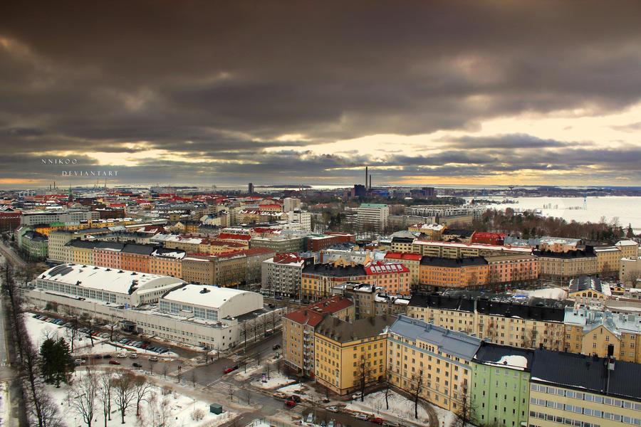 Evening Helsinki by nnIKOO