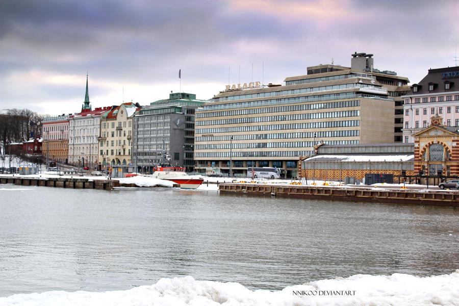 Helsinki Winter by nnIKOO