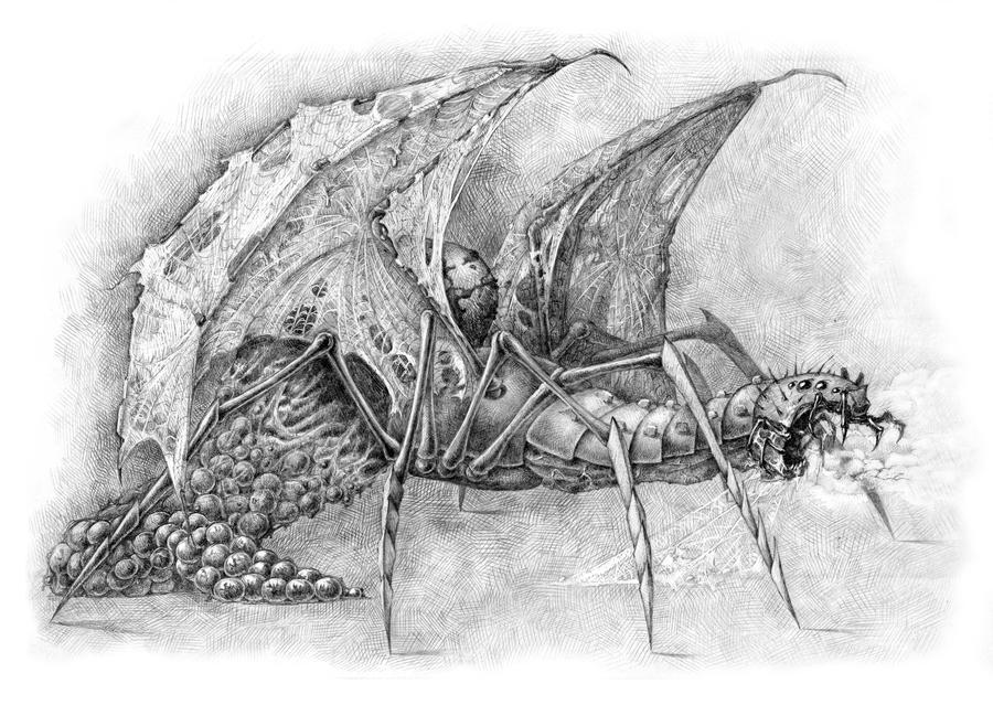 Arachnogon by Mad-Hatman