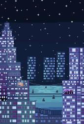 CyberPunk City #1 by AlexTheTrain