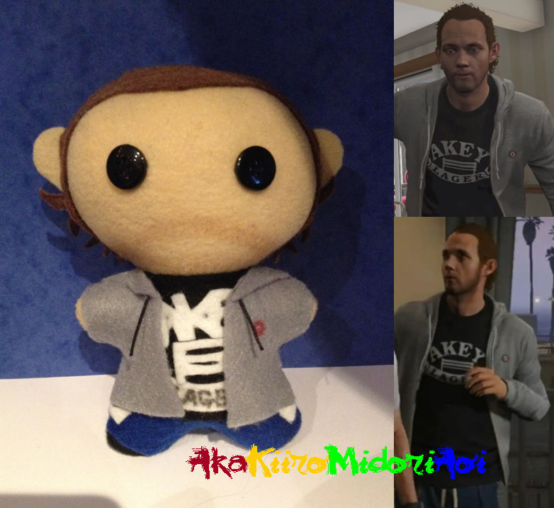 GTA V Plushes: Floyd Hebert