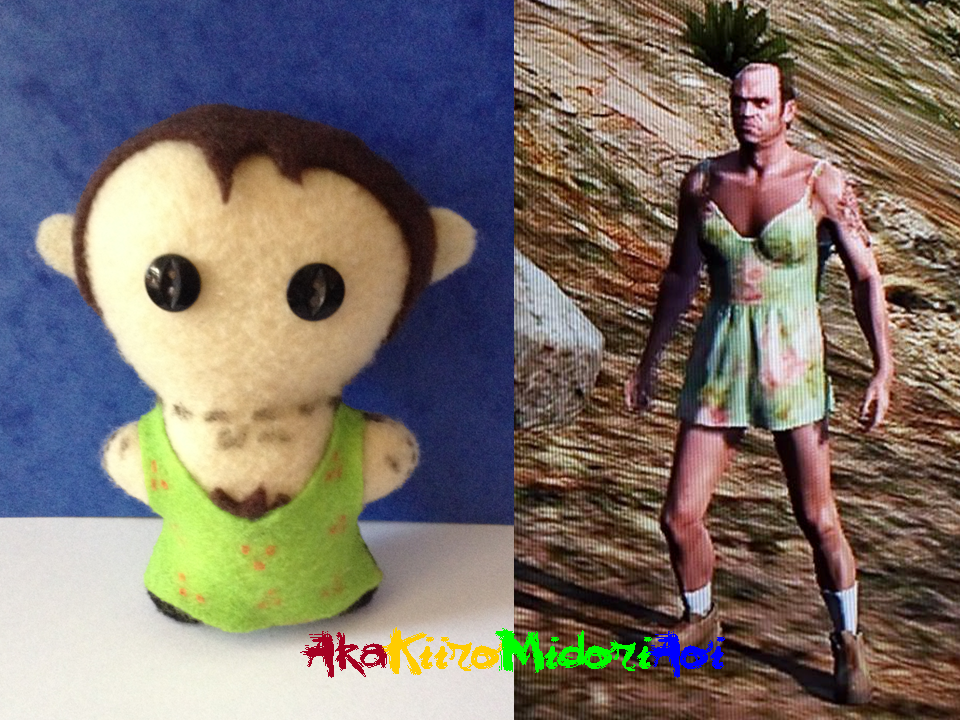 GTA V Plushes: T by AkaKiiroMidoriAoi