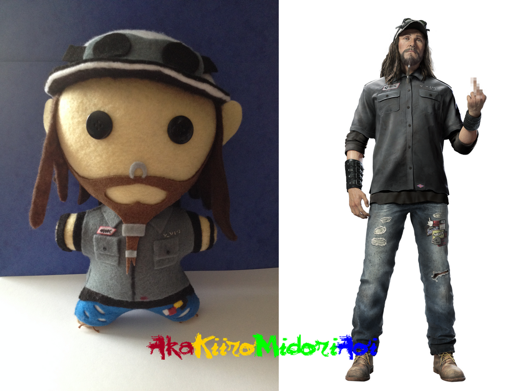 Watch Dogs Tbone Figurine