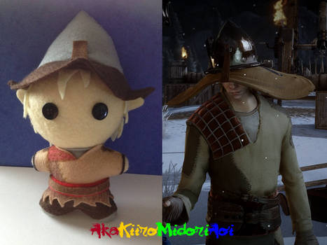 Dragon Age Plushes: Cole (With Hat)