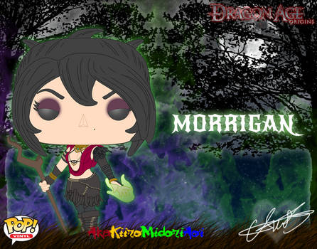 Pop Concepts: Dragon Age Origins: Morrigan