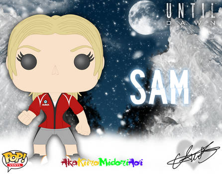 Pop Concepts: Until Dawn: Samantha Giddings