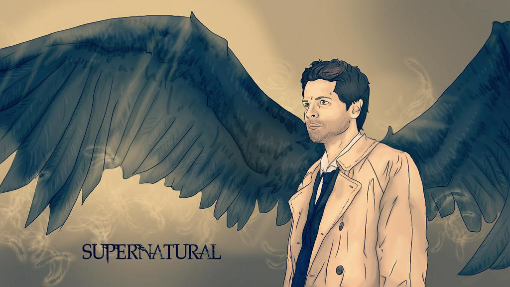 Castiels Wings (SUPERNATURAL) by nuriamoon