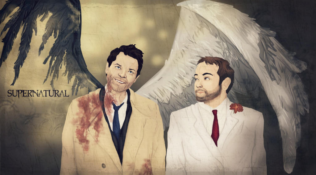 Different shades of evil Cas Crowley HT001 by nuriamoon