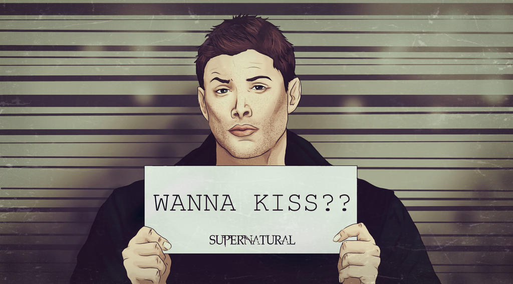Dean/ wanna kiss?(Supernatural) by nuriamoon