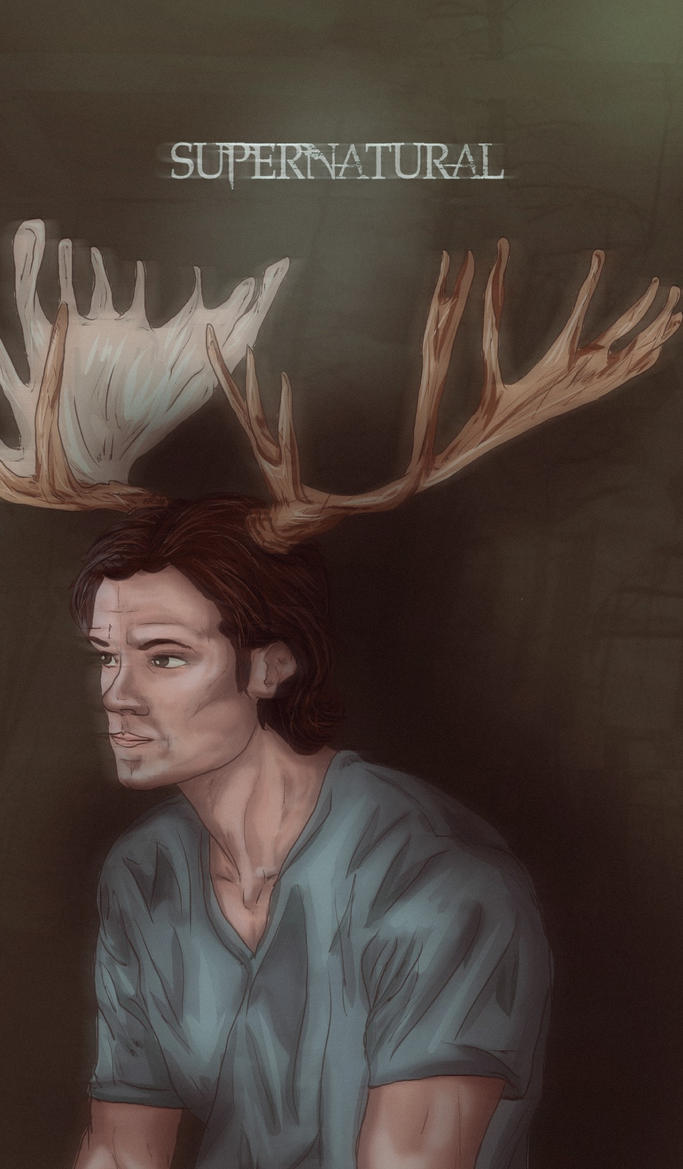 Sami moose (SUPERNATURAL) by nuriamoon