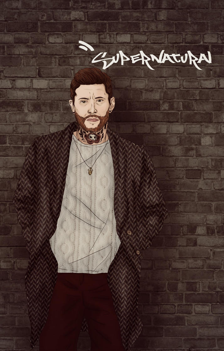 Dean Hipster (SUPERNATURAL) by nuriamoon
