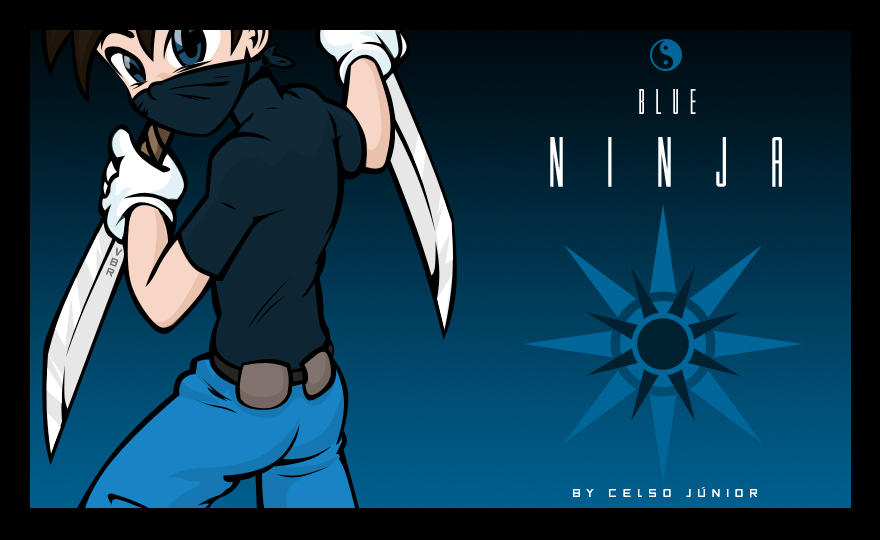 Blue Ninja by celsojunior