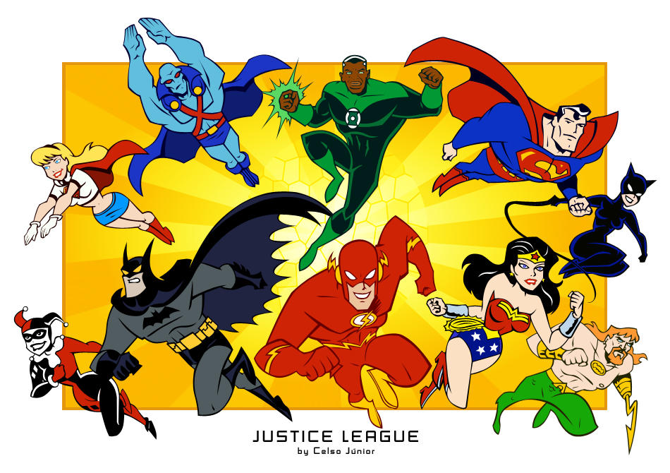 Justice League Unlimited favourites by pita90 on DeviantArt