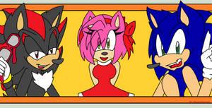 Three Main Hedgehogs