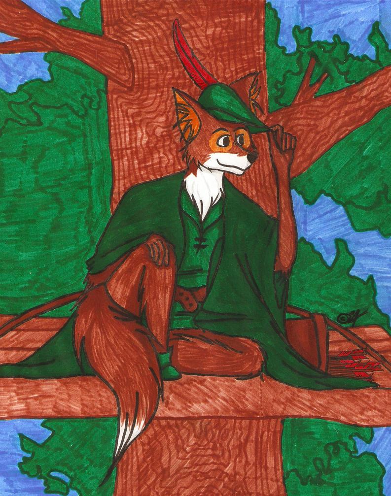 Robin Hood fanart by Akitainu96