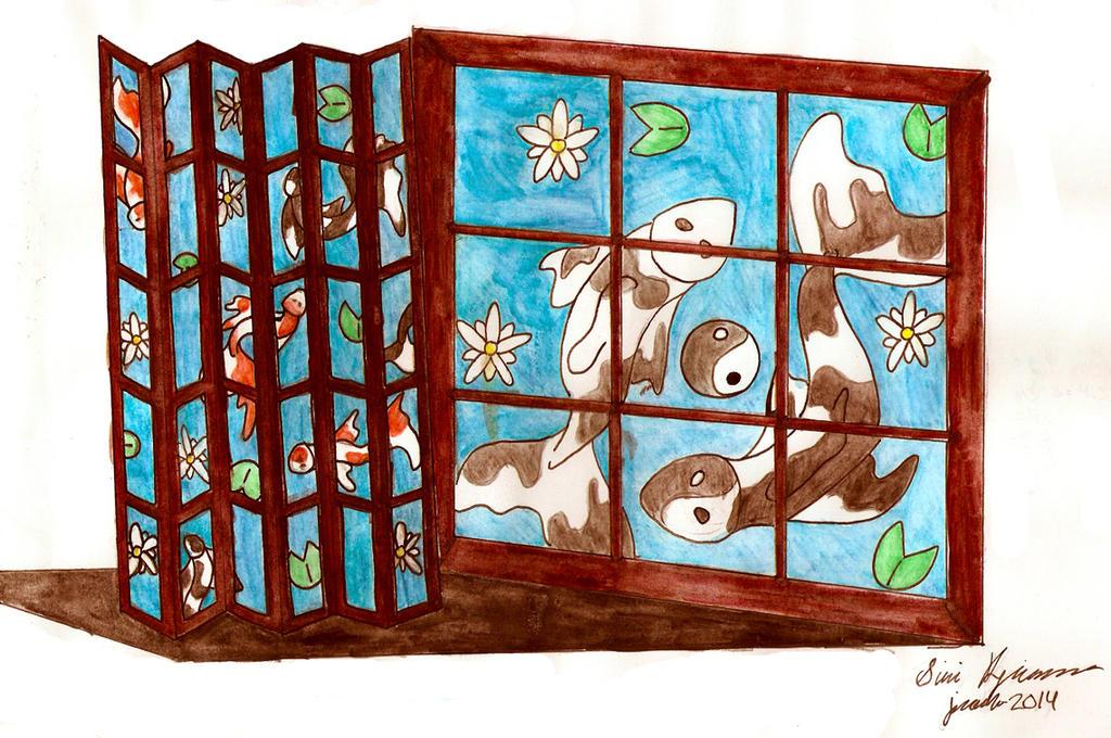 Koi-fish by Akitainu96