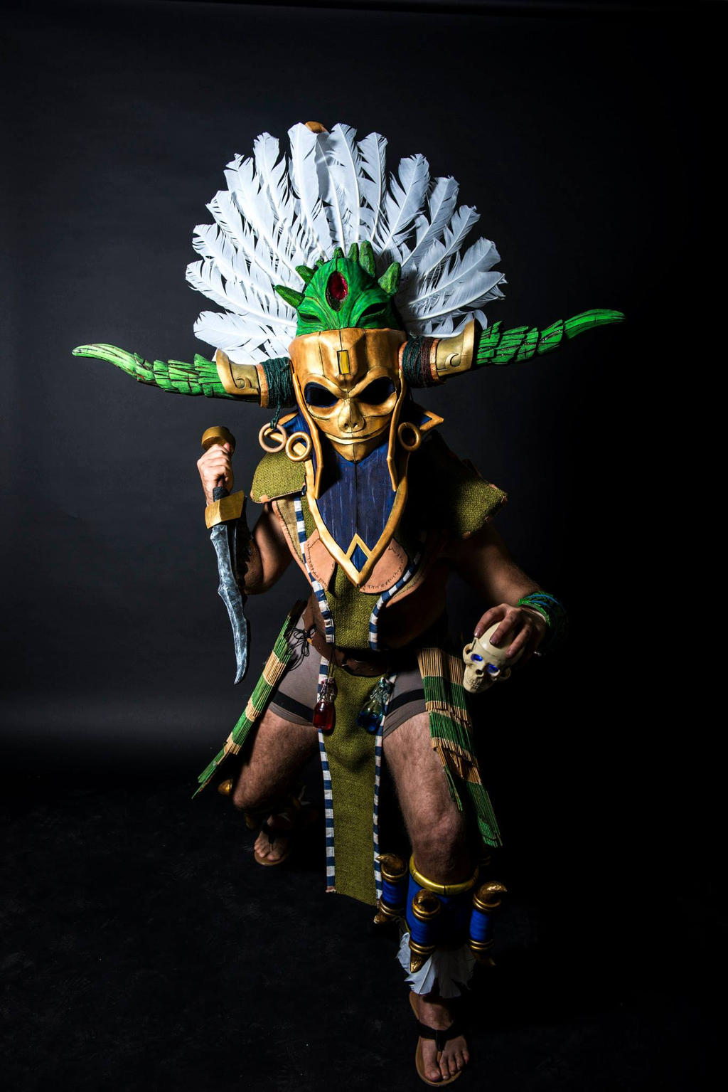 Witch Doctor - KultCon'13 Frontal by Sizvahstar on DeviantArt
