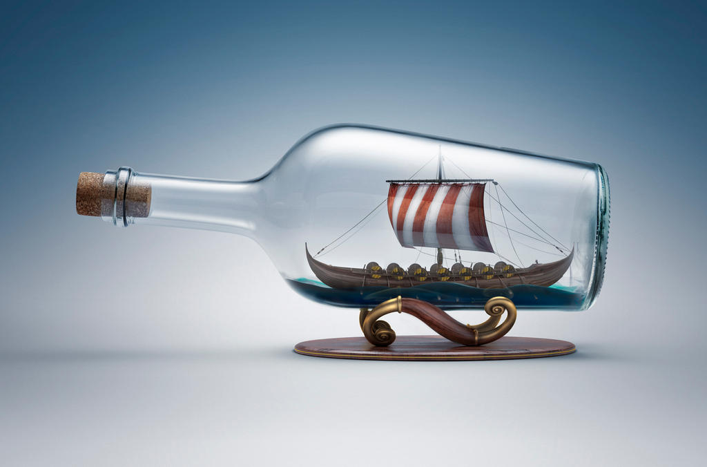 bottle ship wallpaper hd desktop - photo #18