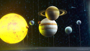 Our Solar System by RafaelVallaperde