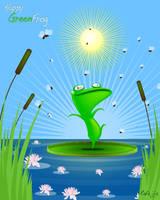 Happy Frog by RafaelVallaperde