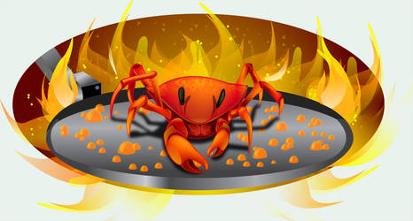 Crustaceo na Frying pan by RafaelVallaperde
