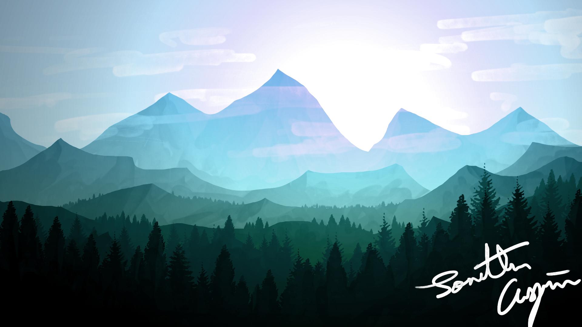 landscape wallpaper 1 - photo #6