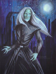 Phantom - wraith character by GvonR