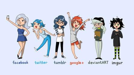 Humanized Websites by AtokNiiro
