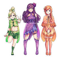 The Fab Fairies by Evlosart
