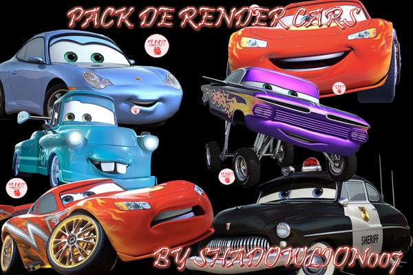 Pack 6 render Cars Movie Render_cars_movie_by_shadowlion007-d3g447m