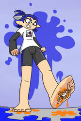 Make you go SPLAT (giant boy) by MegaMaliit