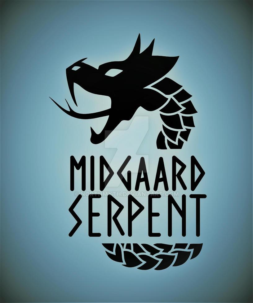 Midgaard Serpent Jormungandr by Northmyth