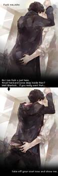 take off your coat Sherlock by mlcamaro