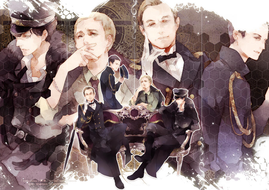 Punish and Enslave BBCSherlock by mlcamaro