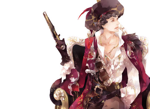 Pirate!Sherlock Wallpaper