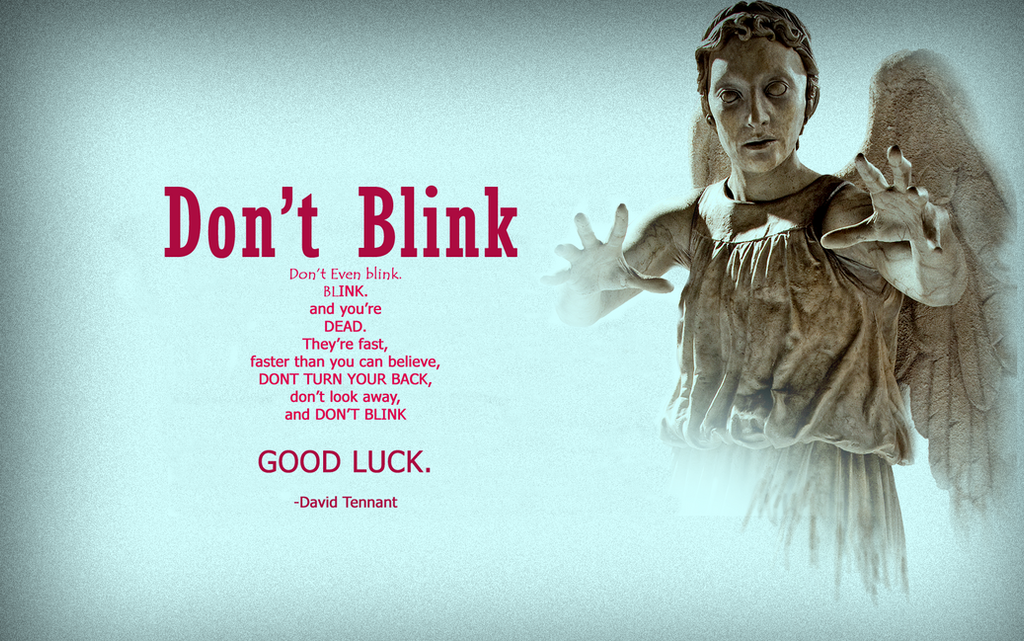 doctor who weeping angels wallpaper hd dont blink by