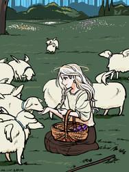 little shepherd by RinLockhart
