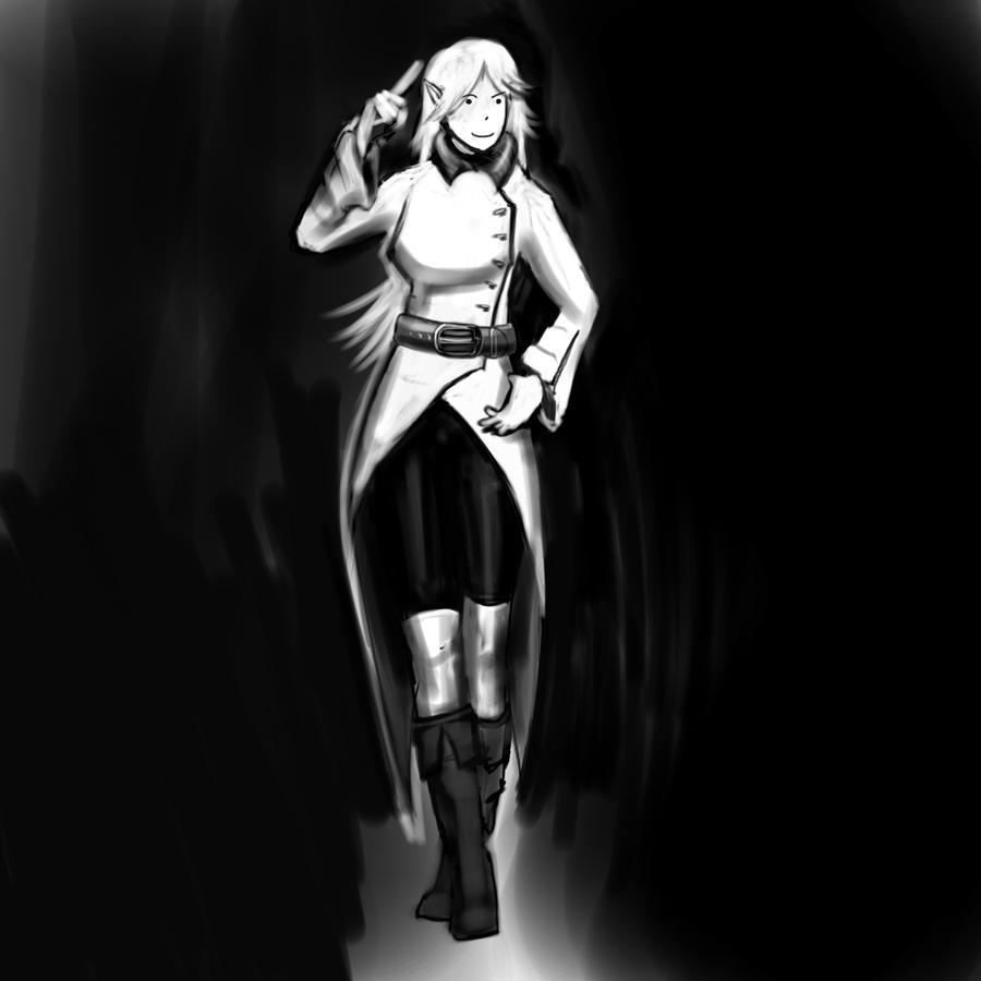 Random girl by Germille