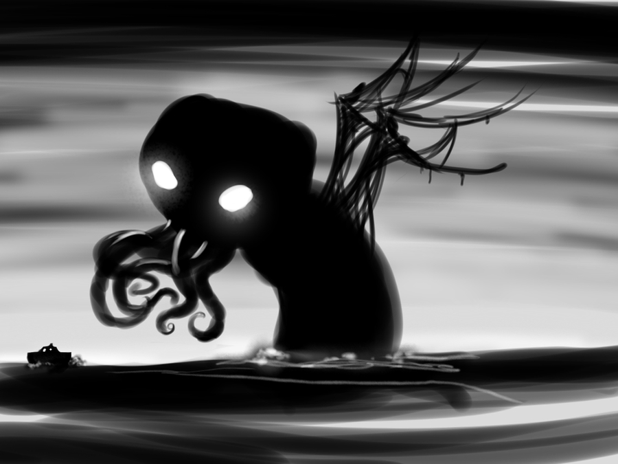 Cthulhu by Germille