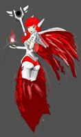 Flying Magitech Girl