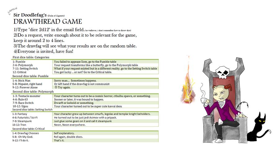 Drawthread Game by Germille