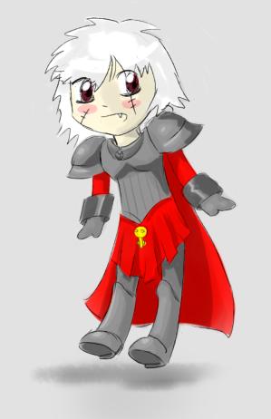 Uguu Sister of Battle by Germille