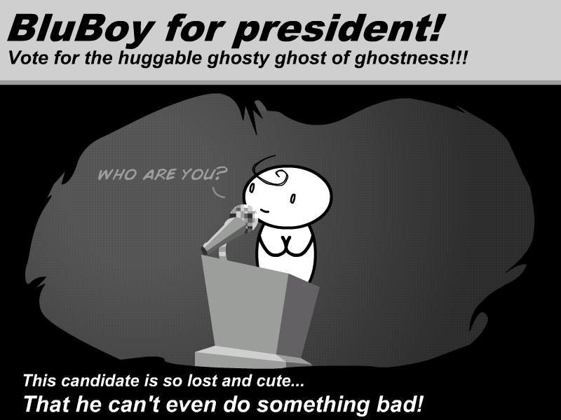 BluBoy For president -Fanart- by Germille