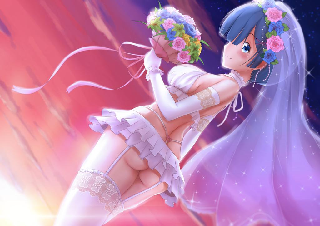 Rem rezero wedding dress by jmc5221